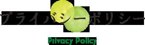 プライバシーポリシー詳細